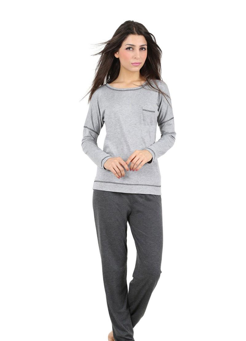 Пижама женская брюки 4080954393