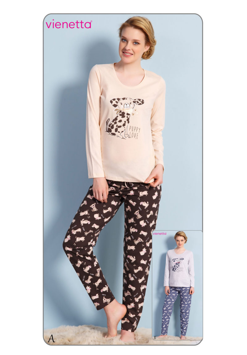 Пижама женская брюки 7030280393
