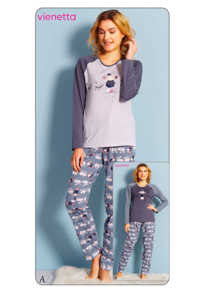 Пижама женская брюки 7030473124
