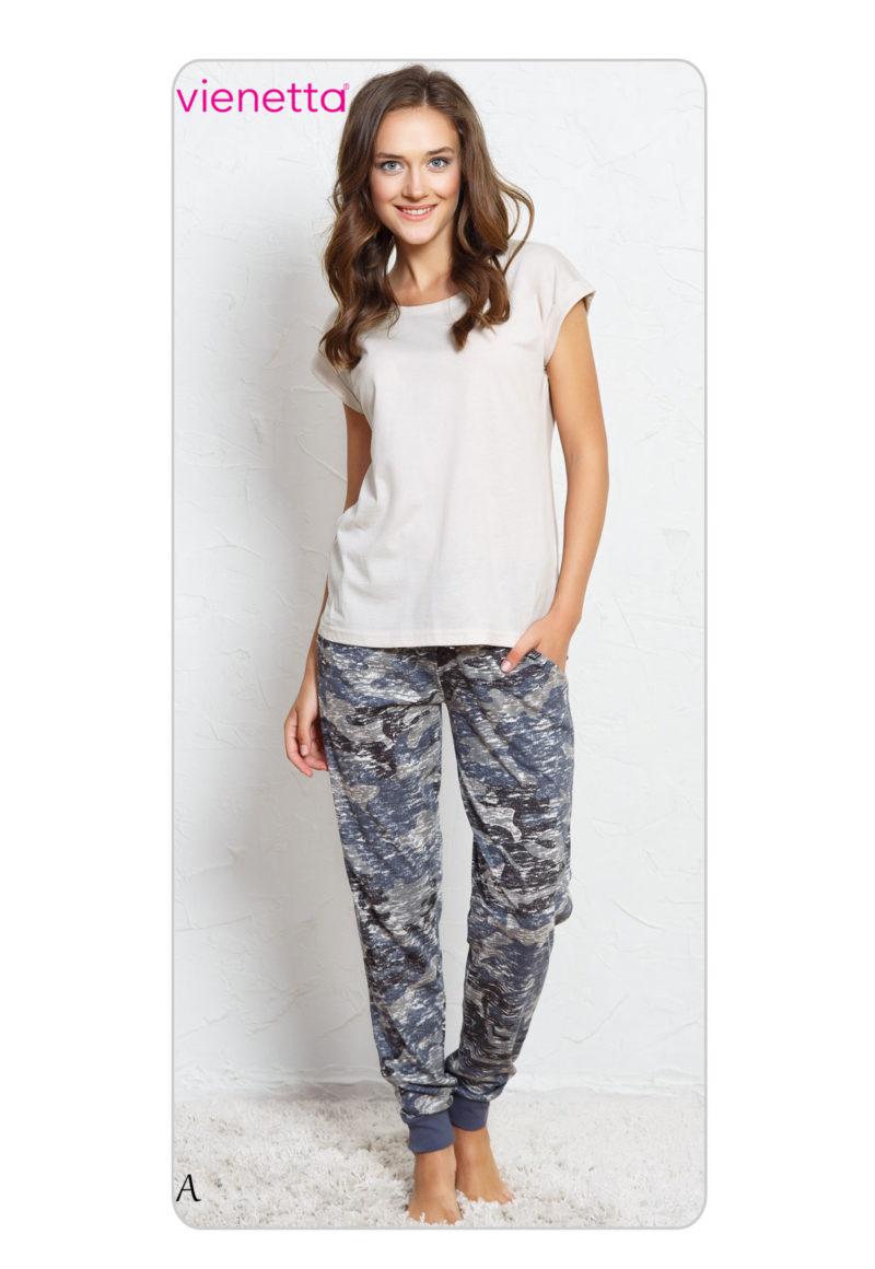 Пижама женская брюки 7030564740