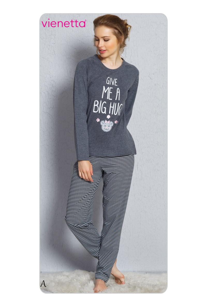 Пижама женская брюки 7040380934