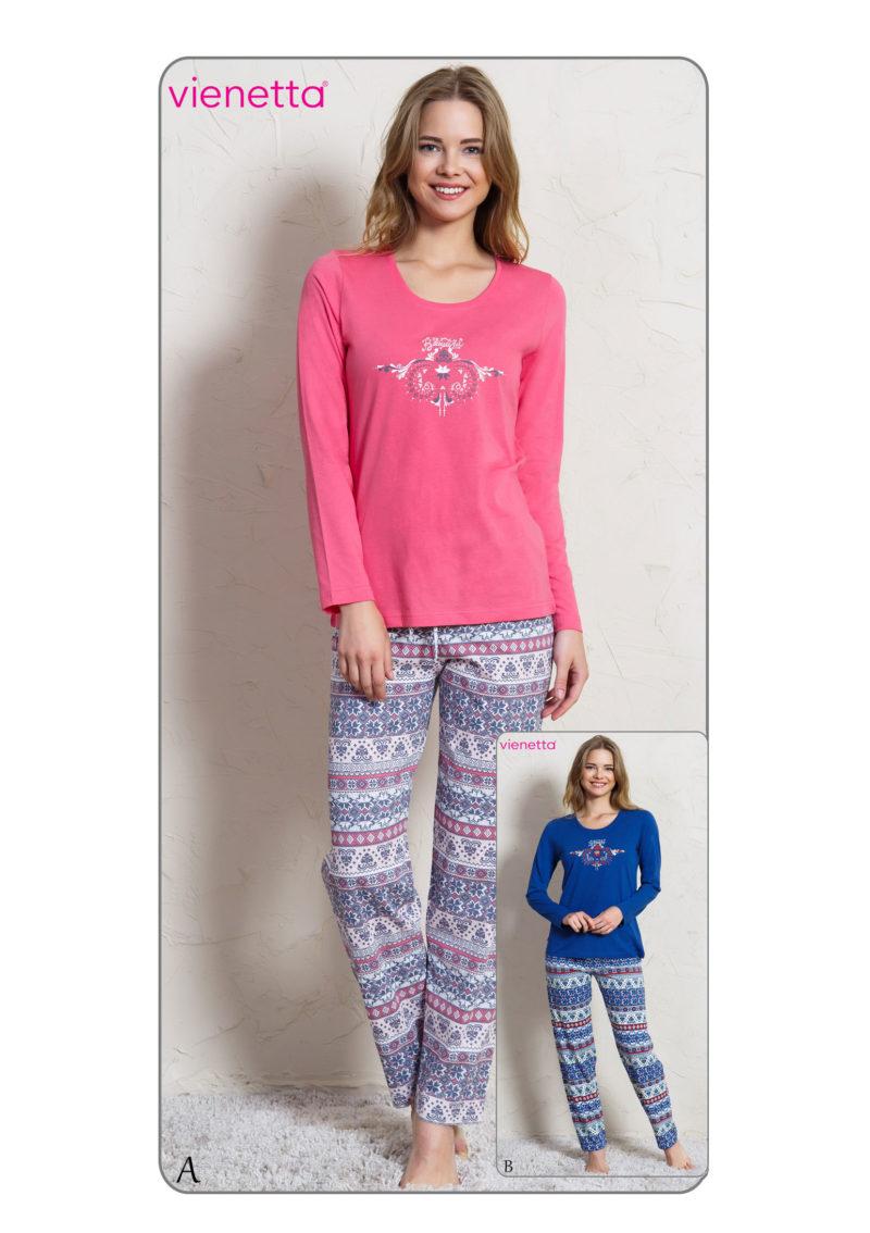 Пижама женская брюки 7041015380