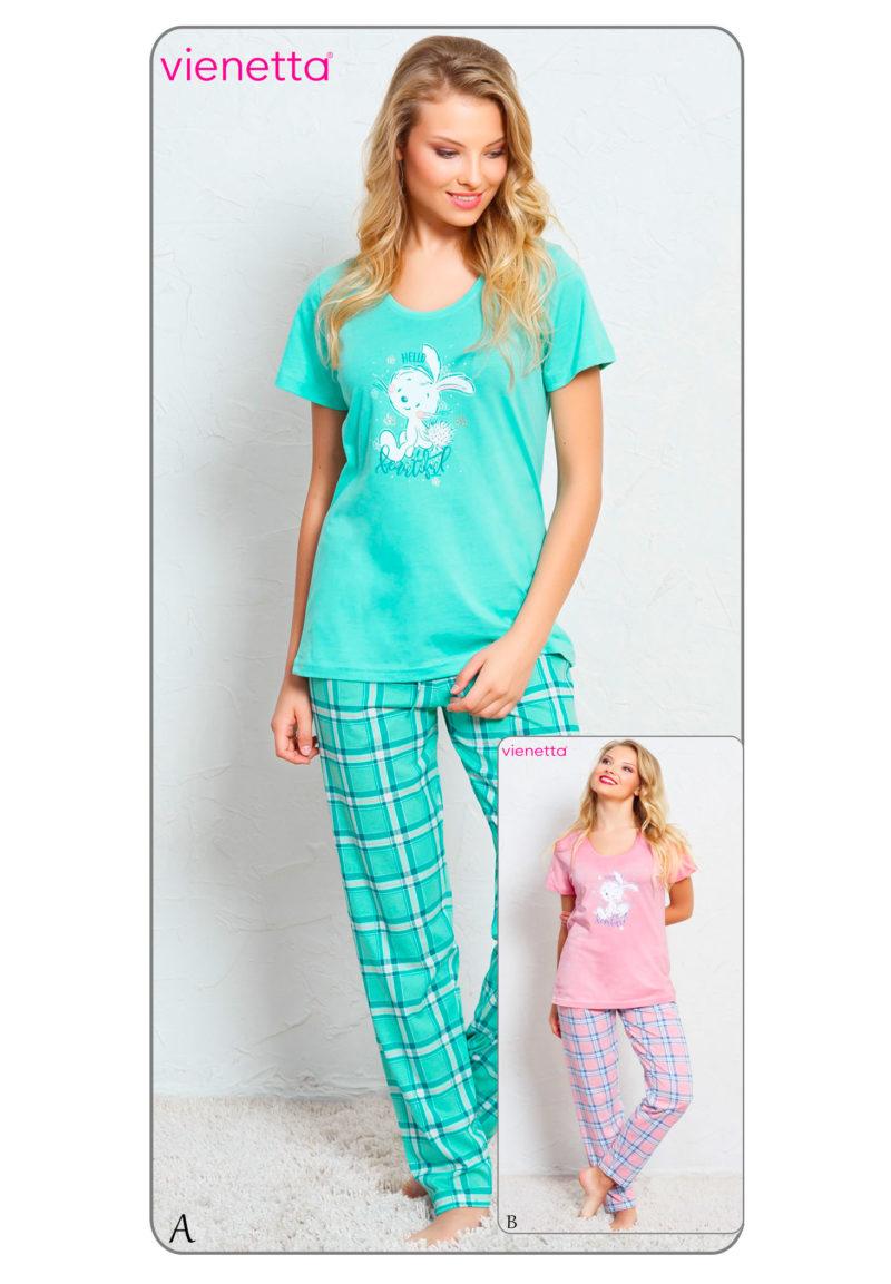 Пижама женская брюки 7050740376