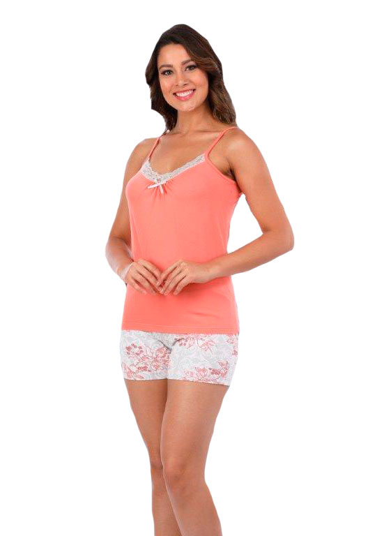 Пижама женская шорты Metin 8916