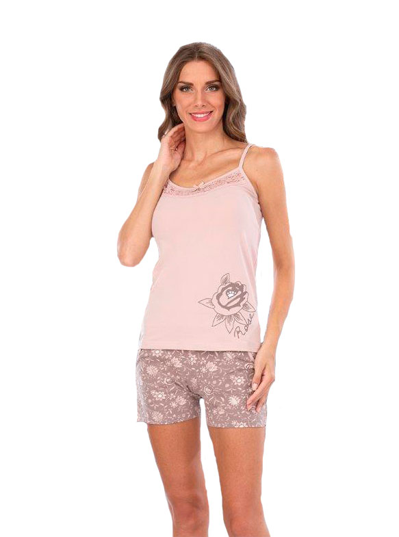 Пижама женская шорты Metin 8920