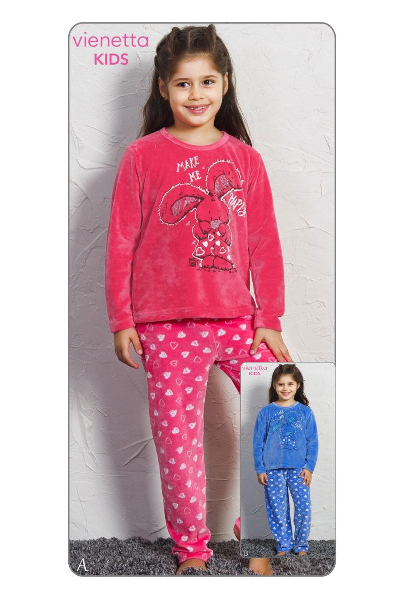 Пижама детская велюр 7050091879