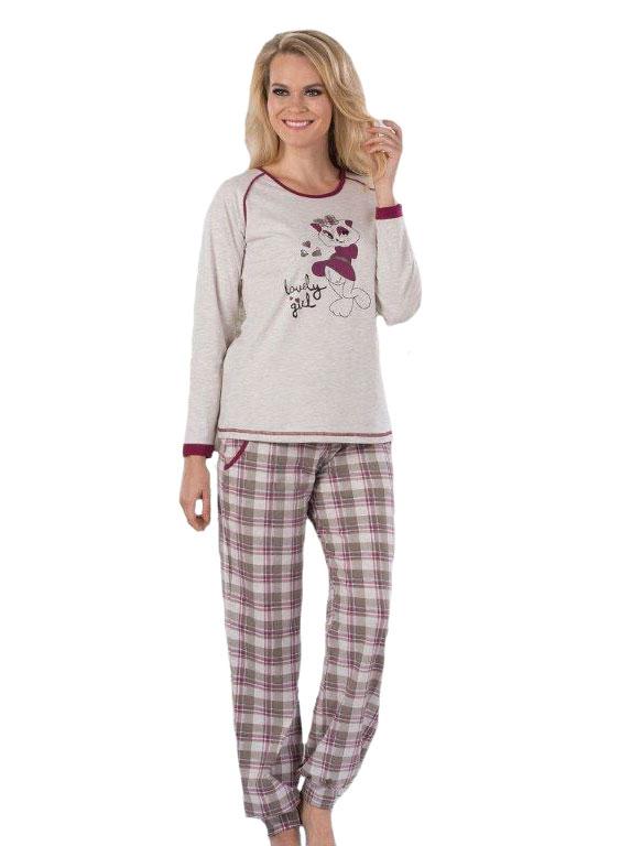 Пижама женская Metin 5056