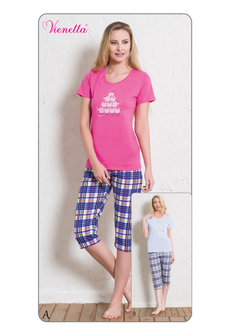 Пижама женская Капри 6010585617
