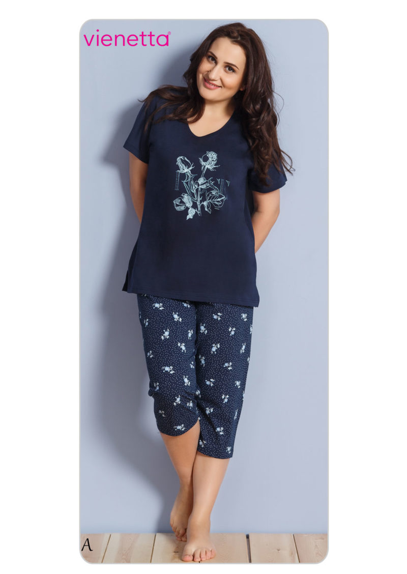 Пижама женская Капри 7020900435