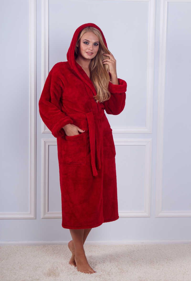 Махровый халат Sofi Soft 10815-11 red