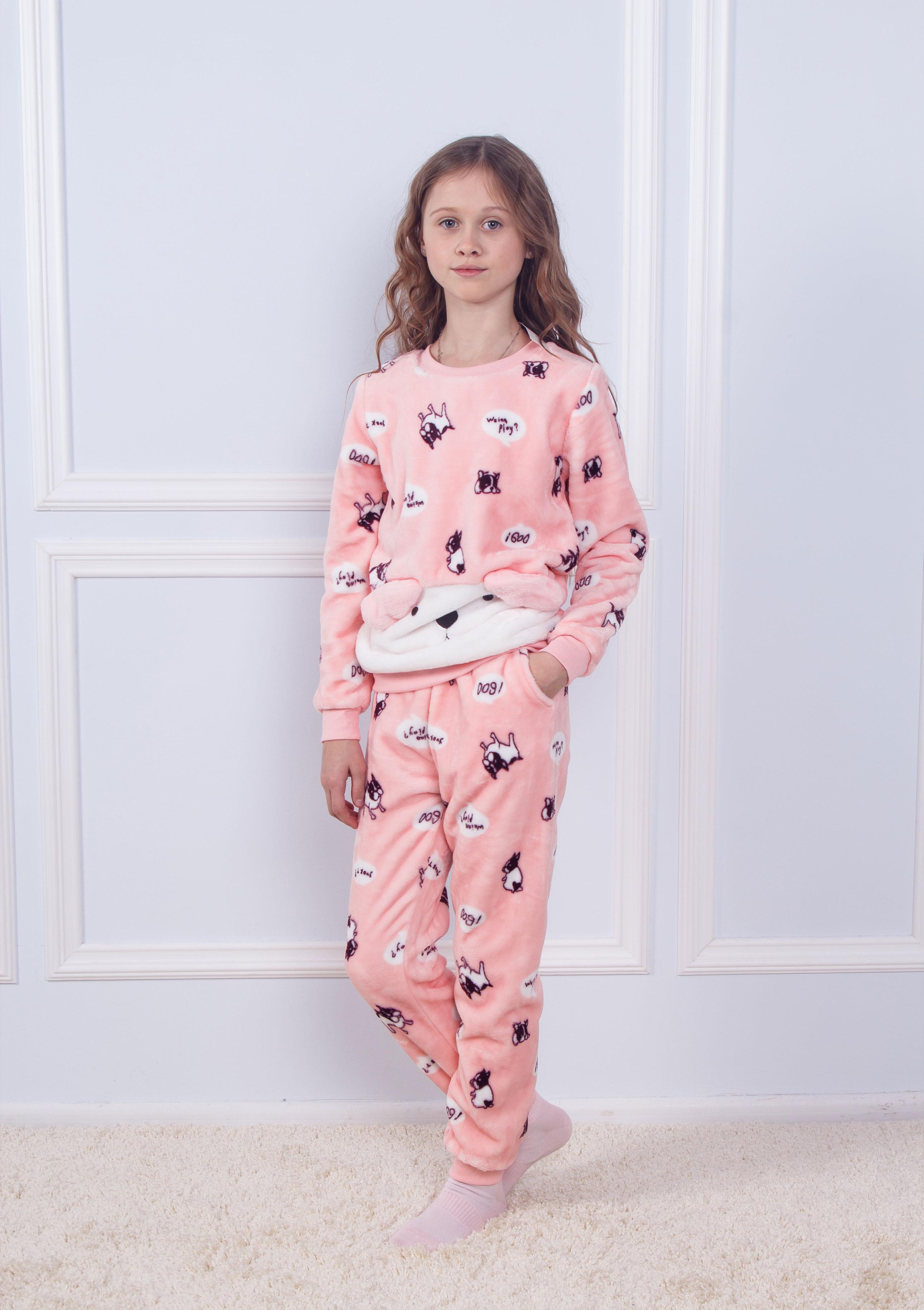 Пижама детская махра Sofi Soft 10825