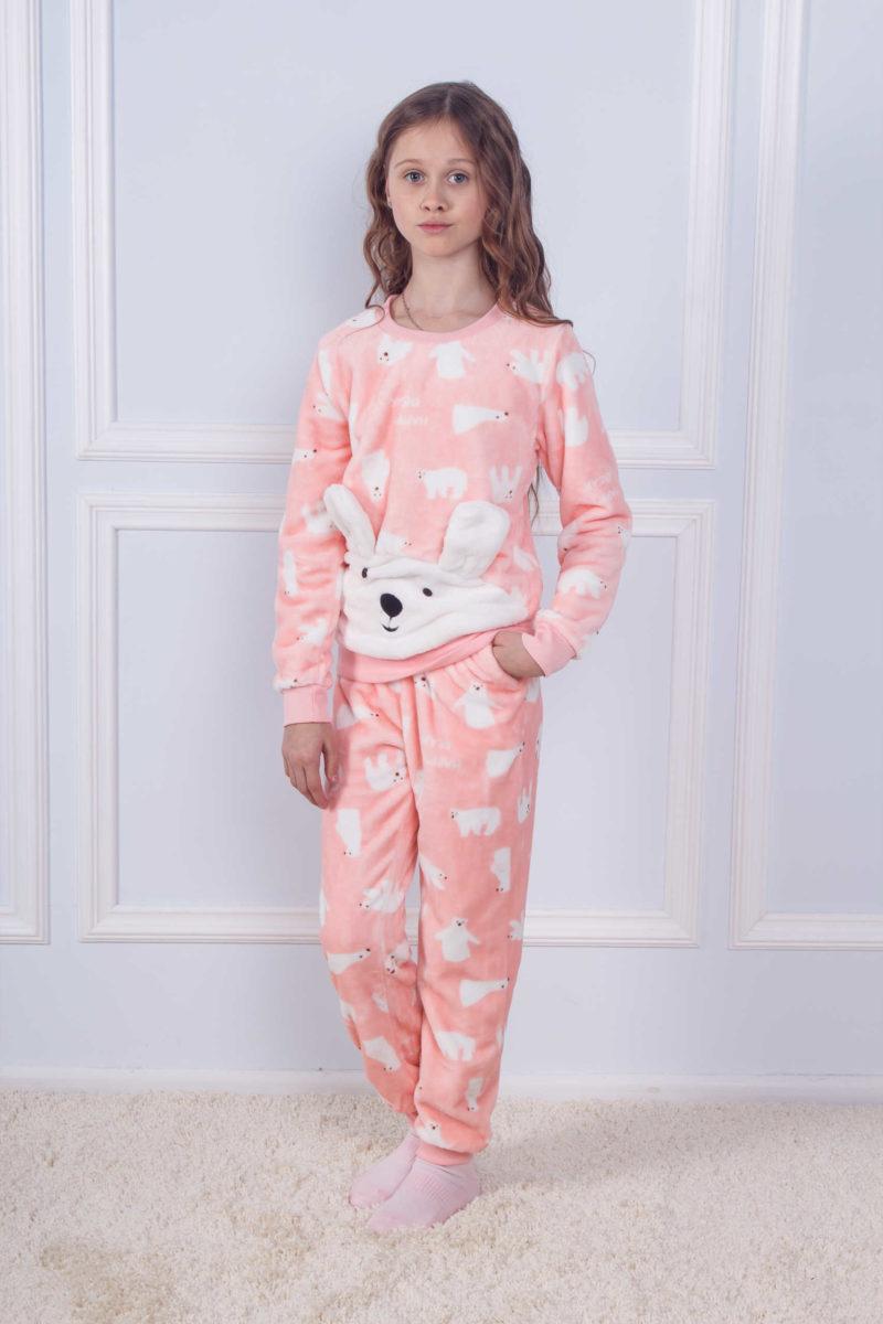 Пижама детская махра Sofi Soft 10826 bear
