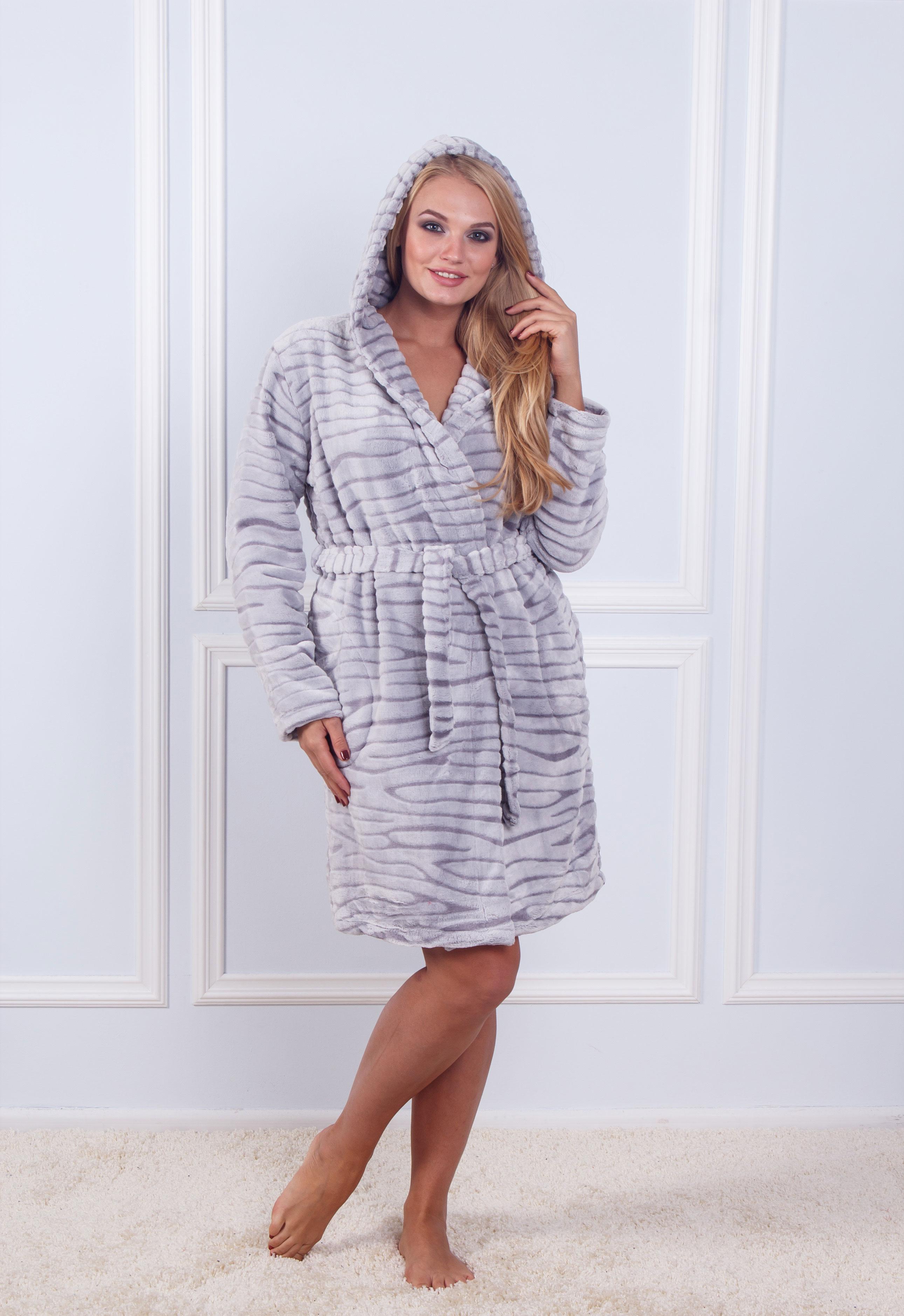 Халат махровый женский Sofi Soft K 10844
