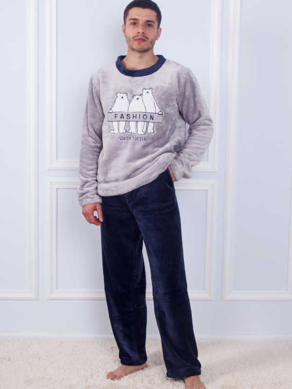 Пижама мужская махровая SofiSoft 10869
