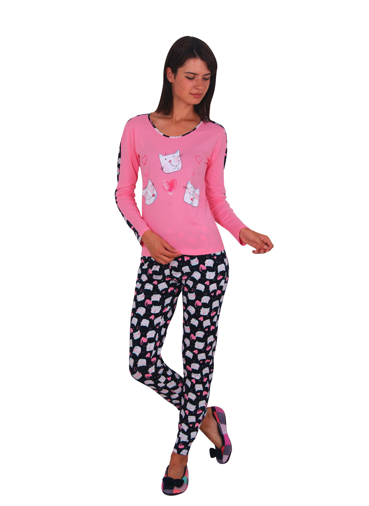 Пижама женская Nicoletta 86883