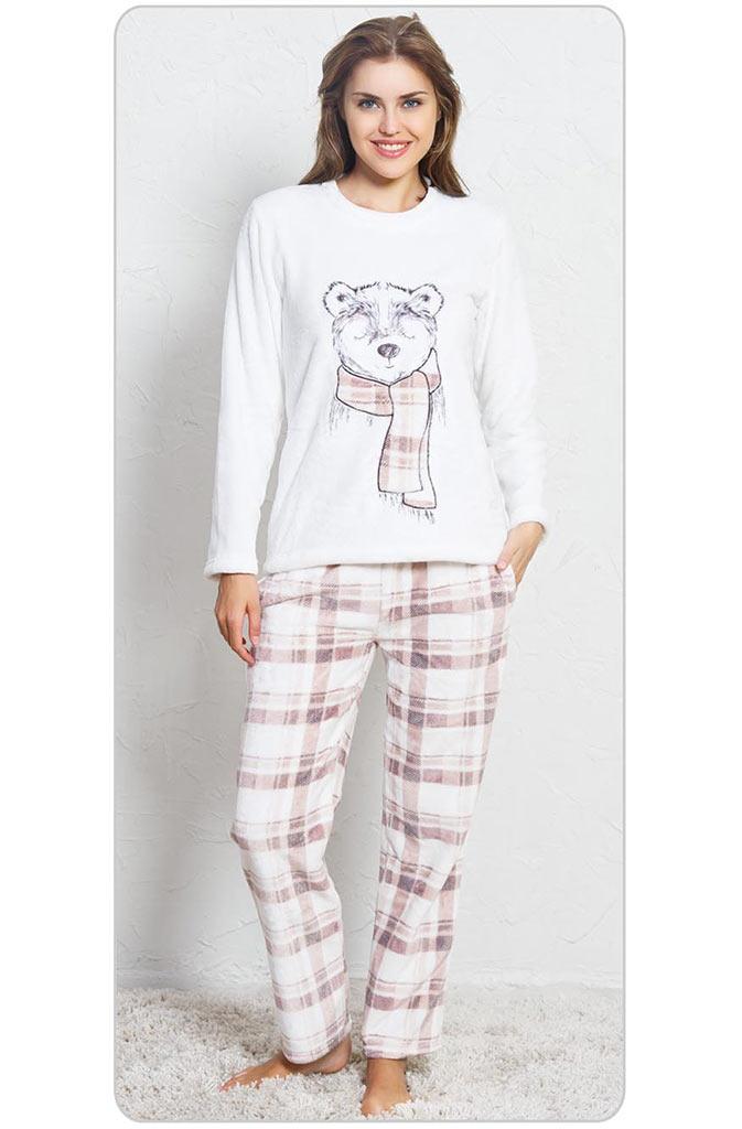 Пижама женская брюки SNK-97 3365