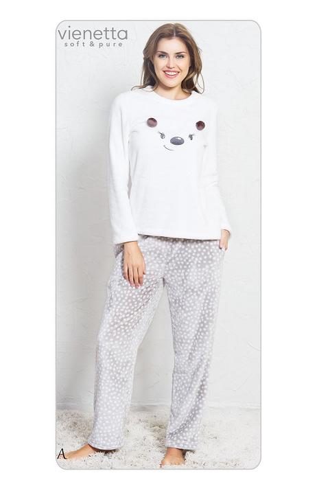 Пижама женская брюки SNK108 3376