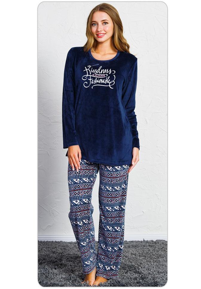 Пижама женская брюки SNK-759 3505
