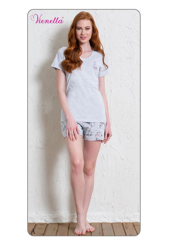 Пижама женская шорты 6010835641