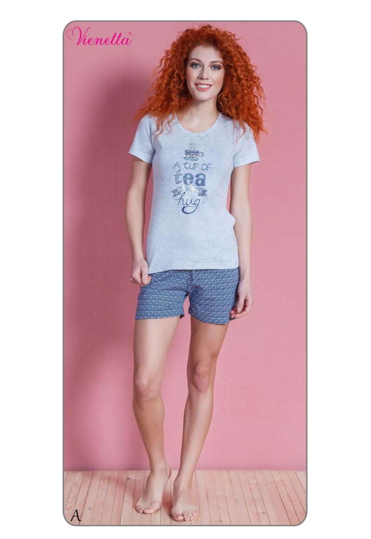 Пижама женская шорты 6102261273