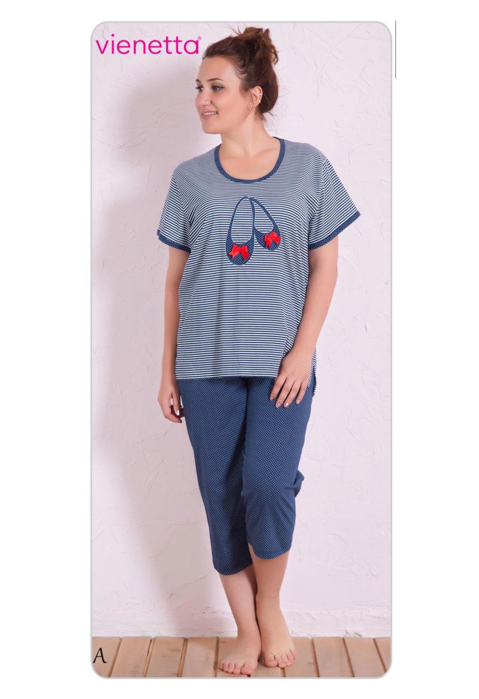 Пижама женская Капри 7082291913
