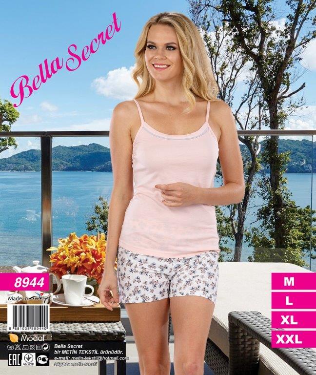 Пижама женская шорты Metin 8944