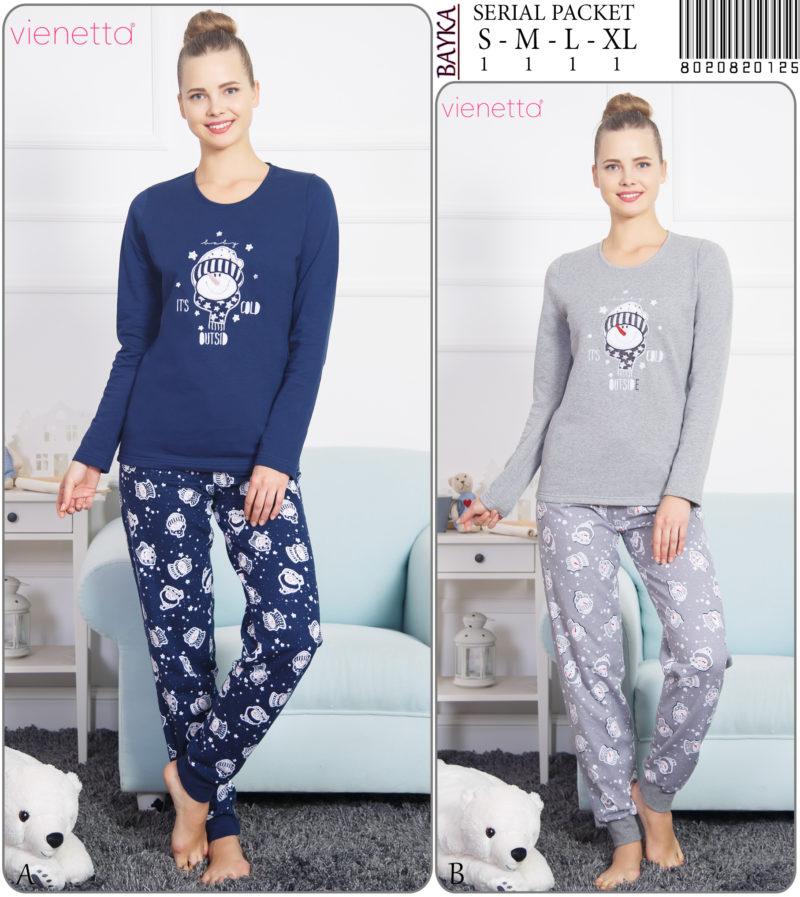 Пижама женская Байка 8020820125