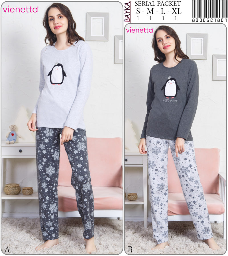 Пижама женская Байка 8030521807