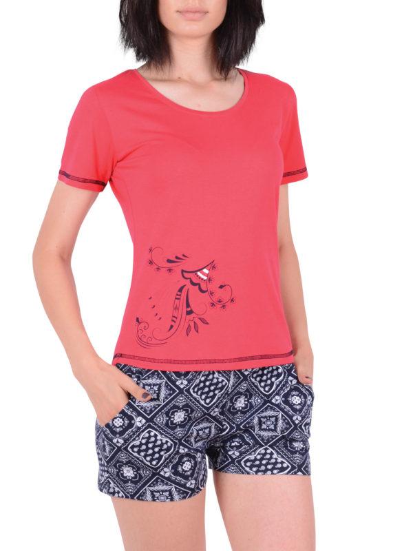Пижама женская Шорты NIC 80842