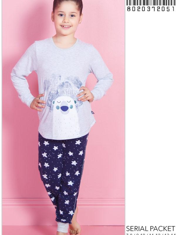 Пижама детская трикотаж 8020372051