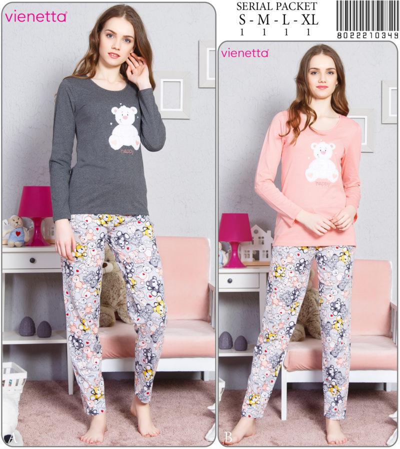 Пижама женская Брюки 8022210349