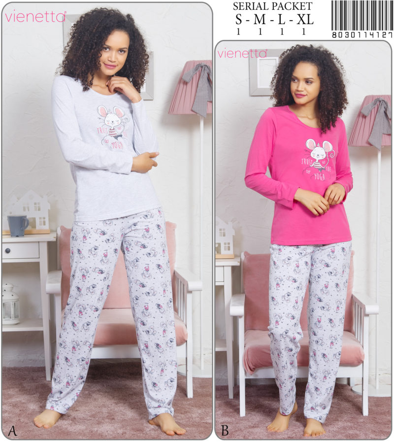 Пижама женская Брюки 8030114127