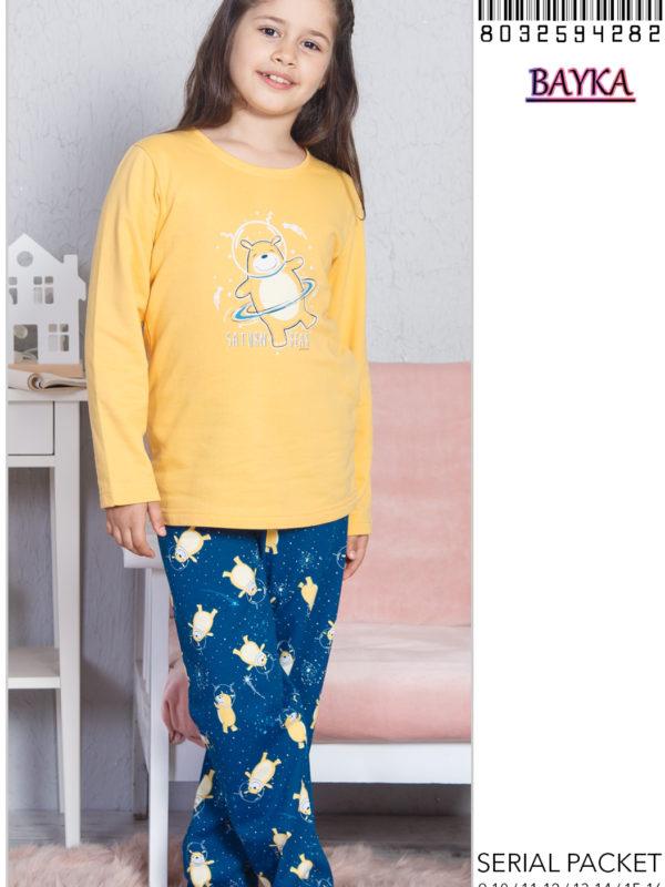 Пижама детская байка 8032594282