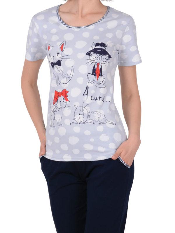 Пижама женская капри Nicoletta 82428