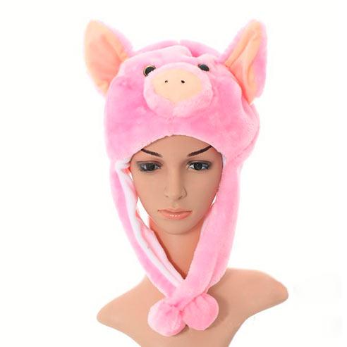 Шапка Pink pig SofiSoft short