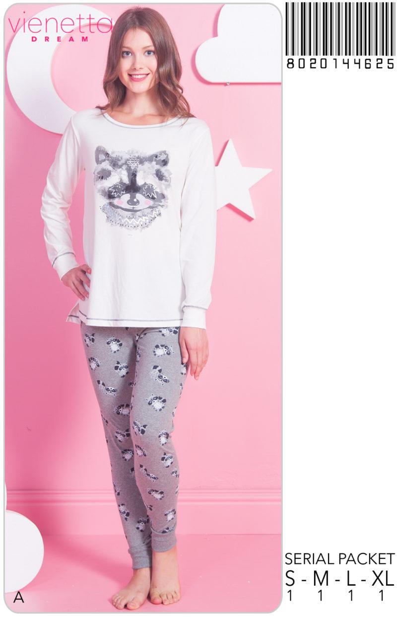 Пижама женская Брюки 8020144625