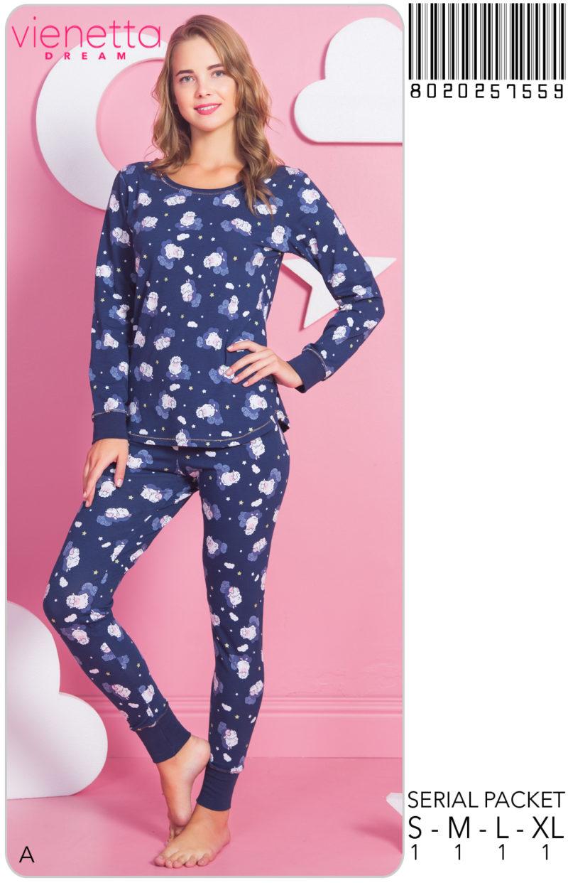 Пижама женская Брюки 8020257559