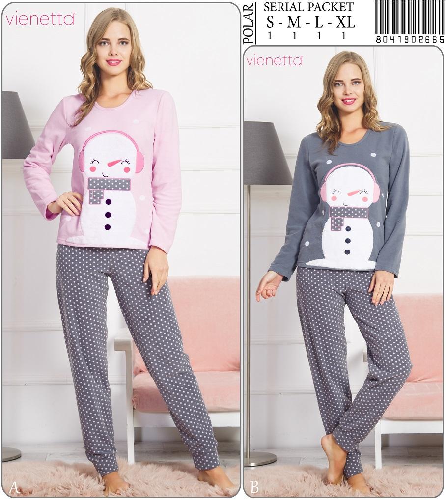 Пижама женская Флис 8041902665