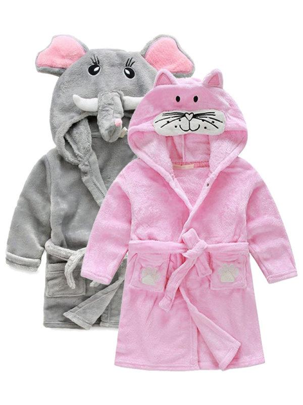 Детские махровые халаты
