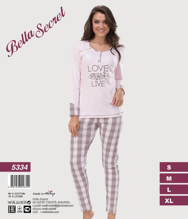 Пижама женская Metin 5334