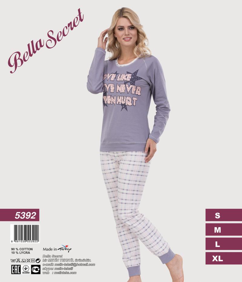 Пижама женская Metin 5392
