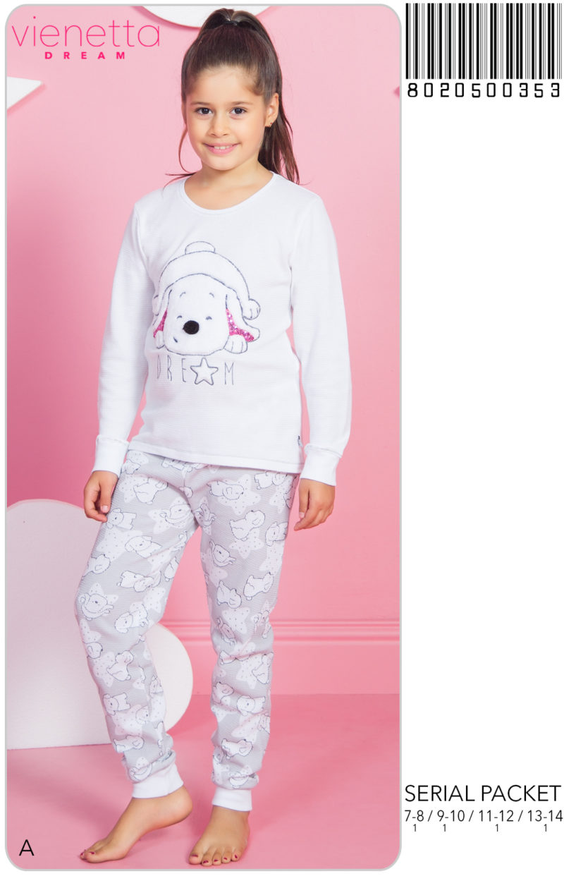 Пижама детская трикотаж 8020500353