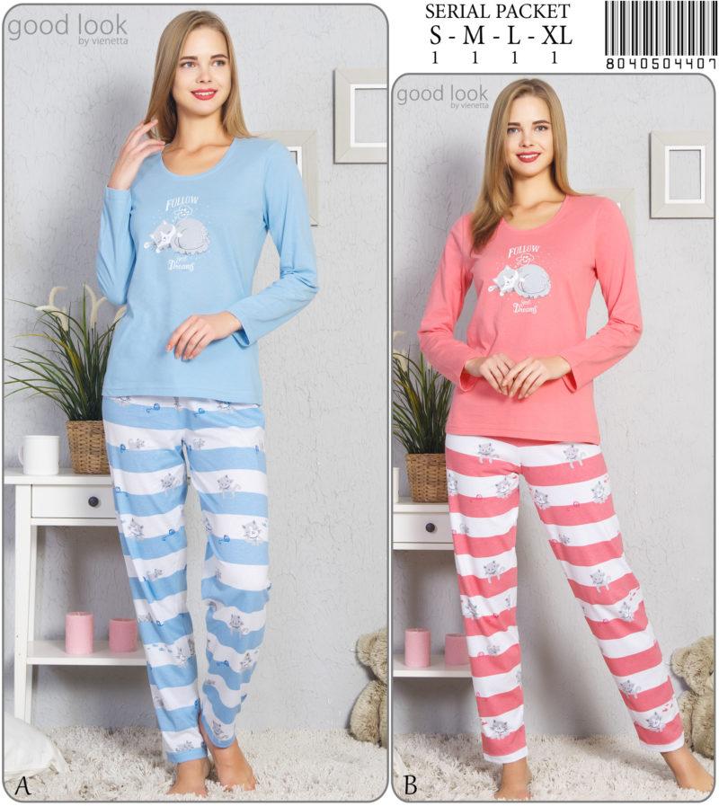 Пижама женская Брюки GL 8040504407