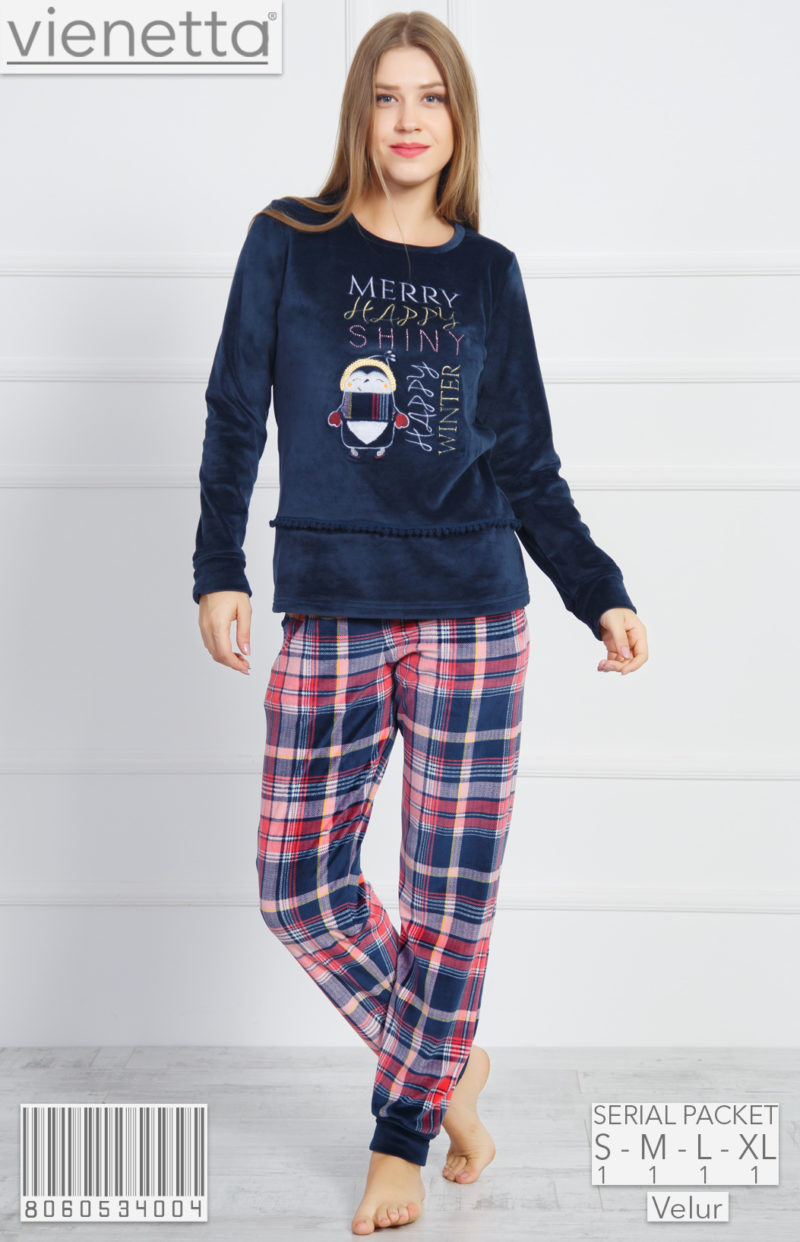 Пижама женская Велюр 8060534004