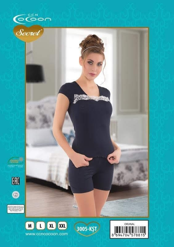 Пижама женская Шорты Cocoon 3005 KST