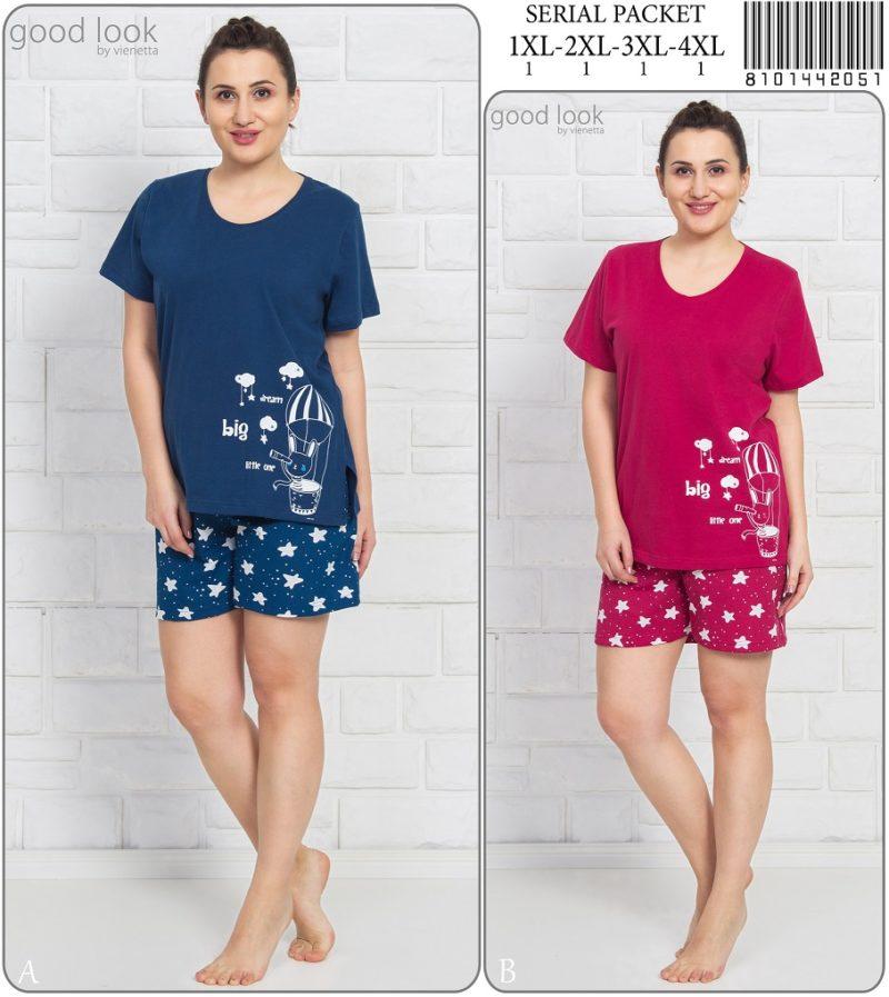 Пижама женская Шорты 8101442051