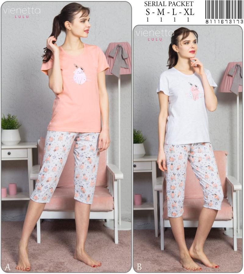 Пижама женская капри 8111673173