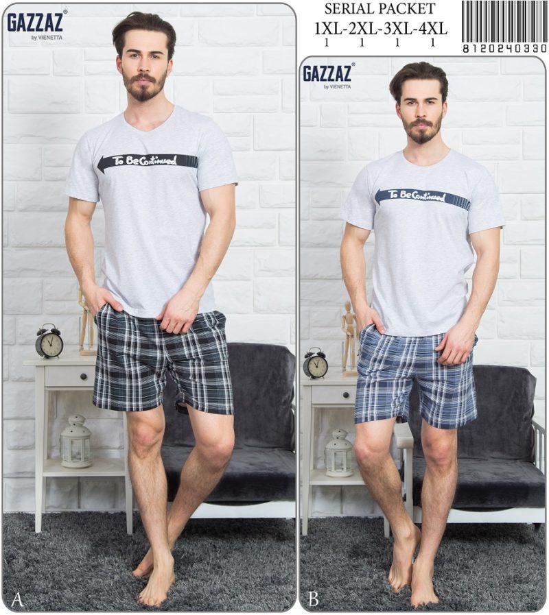 Пижама мужская шорты 8120240330