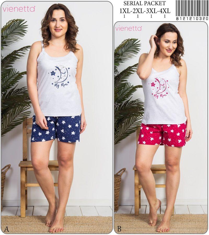Пижама женская шорты 8121210320