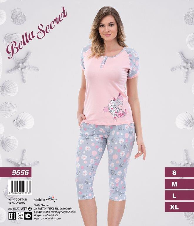 Пижама женская Капри Metin 9656